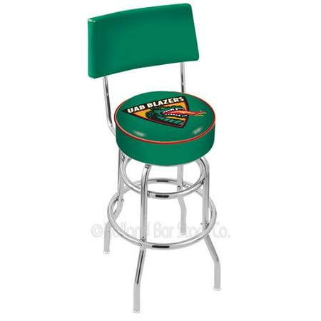 Holland Bar Stool NCAA 25'' Swivel Bar Stool 25' Outdoor Swivel Bar Stool