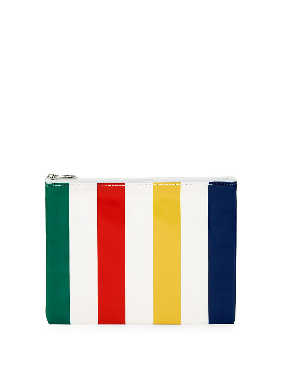 Hudsons Bay Striped Zip Pouch