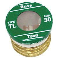 Bussmann - Cooper TL-30PK4 4 Count 30 Amp Time Delay Plug Fuses