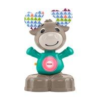 Award Winning Fisher-Price Linkimals Musical Moose, Light-Up Baby Toy