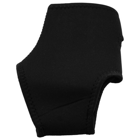 Athletic Black Neoprene Right Ankle Foot Support