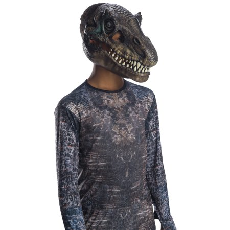 Jurassic World: Fallen Kingdom Baryonyx Movable Jaw Child Mask Halloween Costume Accessory - Jaw Mask