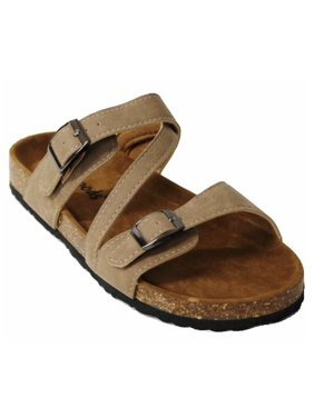 1c3626c1216a Product Image Outwoods Women's Bork 56 Slide Buckle Sandal (Taupe;Size ...