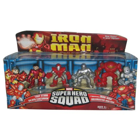 Iron Man Thor Armor (Iron Man Super Hero Squad Figure 4-Pack, Hall of)