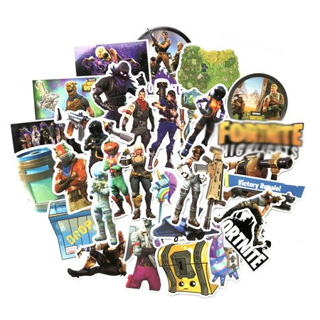 Game Sticker,Birthday Party Stickers for Fortnite Gamers Fancier Kids 40PCS