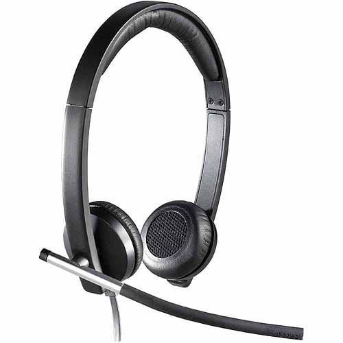 Logitech H650e USB Double-Ear Corded Headset
