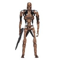 "Terminator 2 - 7"" Scale Action Figure - Kenner Tribute - Metal Mash Endoskeleton"