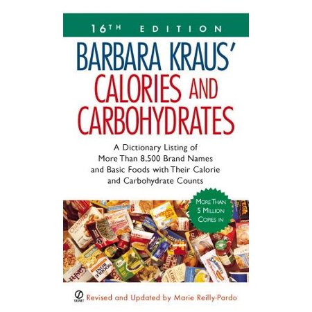 Barbara Kraus' Calories and Carbohydrates : (16th