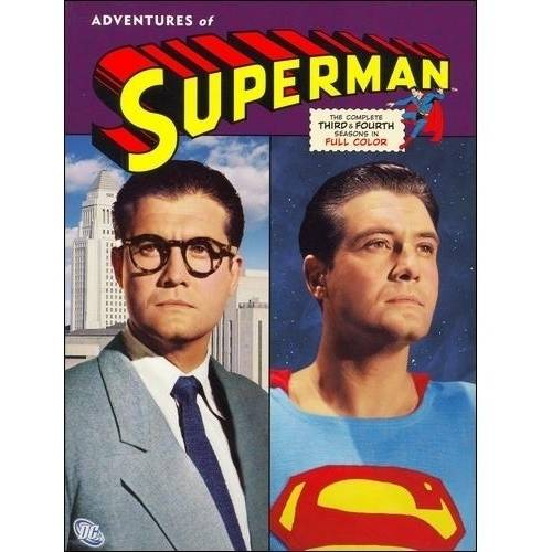 The Adventures Of Superman: The Complete Third & Fourth Seasons (Full Frame)