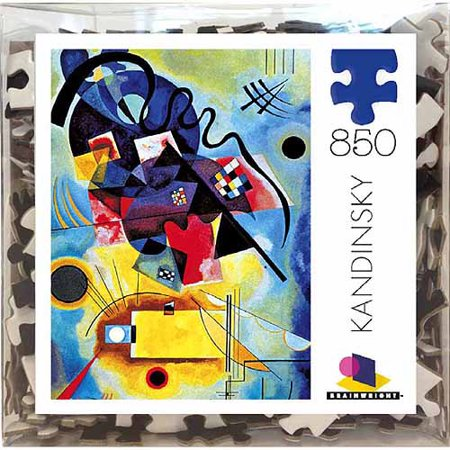 Ceaco brainwright kandinsky deluxe puzzle 850 pieces for Puzzle kandinsky