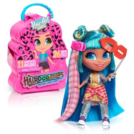 Hairdorables Collectible Doll Hair Art Series 5, styles and case colors may vary, each sold separately, Ages 3 +