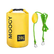 2-in-1 Dock Line Tool Jet Ski Kayak Rowing Sand Anchor Tow Rope Dry Bag Portable