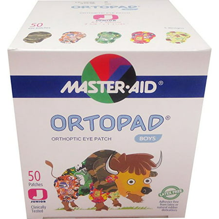 Eye Treatment Patch (Ortopad Boys Eye Patches - Junior Size (50 Per)