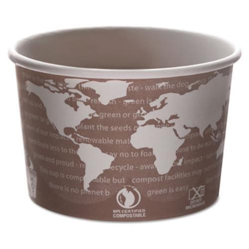 Eco-Products EPBSC8WA World Art Pla-laminated Soup Contai...