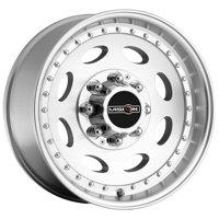 "Vision 81 Hauler 19.5x7.5 8x6.5"" +0mm Machined Wheel Rim 19.5"" Inch"