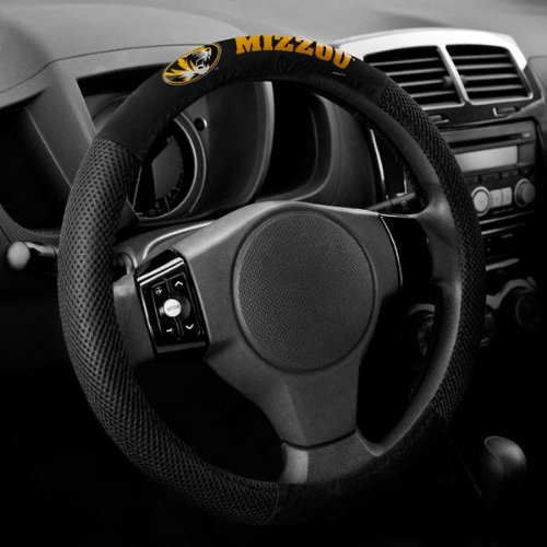 Missouri Tigers Steering Wheel Cover - Mesh