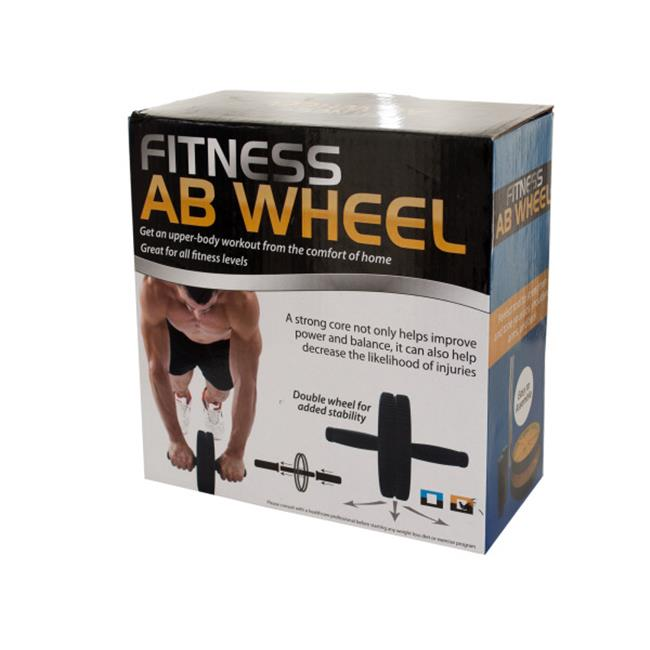 Bulk Buys OD402-4 Fitness Ab Wheel