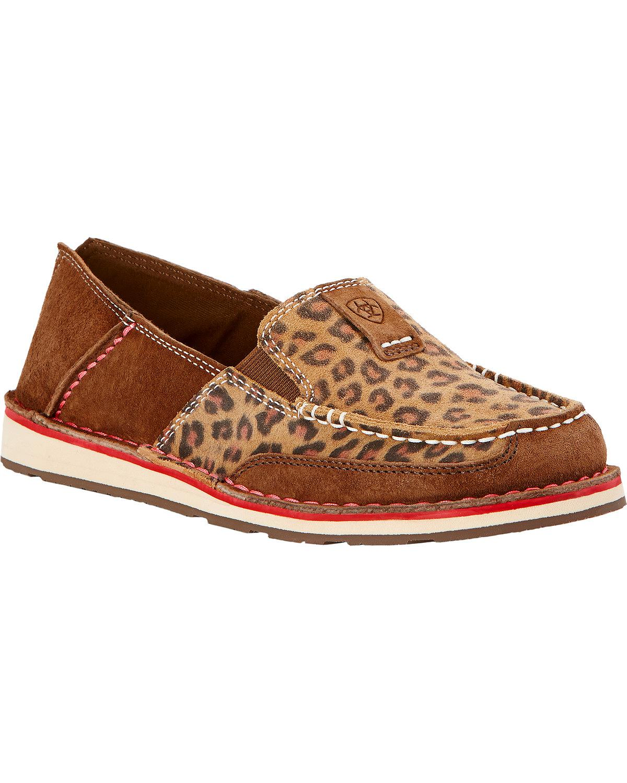 d44124ce5 Ariat - Ariat Women s Leopard Print Cruiser Shoes - 10017458 ...