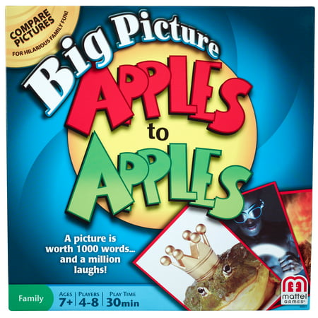 Bobbing For Apples Halloween Games (Apples to Apples Big Picture Game for 4-8 Players Ages)