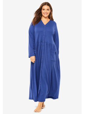 Plus Size Long Knit Lounger By Only Necessities