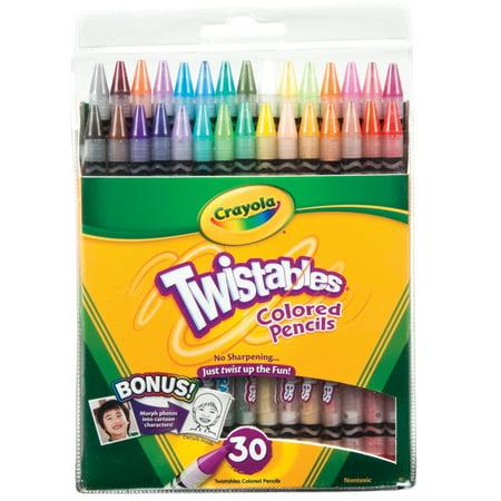 Crayola Twistables Colored Pencil Set, 30-Colors](Crayola Colored Pencils 64)
