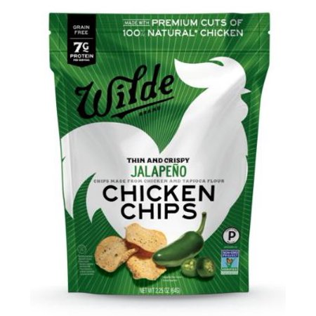 Wilde Boldr Thin & Crispy Jalapeno Chicken Chips