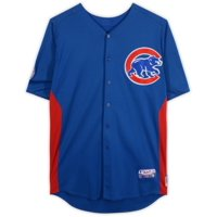 Marcus Mateo Chicago Cubs Game-Used #62 Blue Jersey from Spring Training of the 2011 MLB Season - Fanatics Authentic Certified