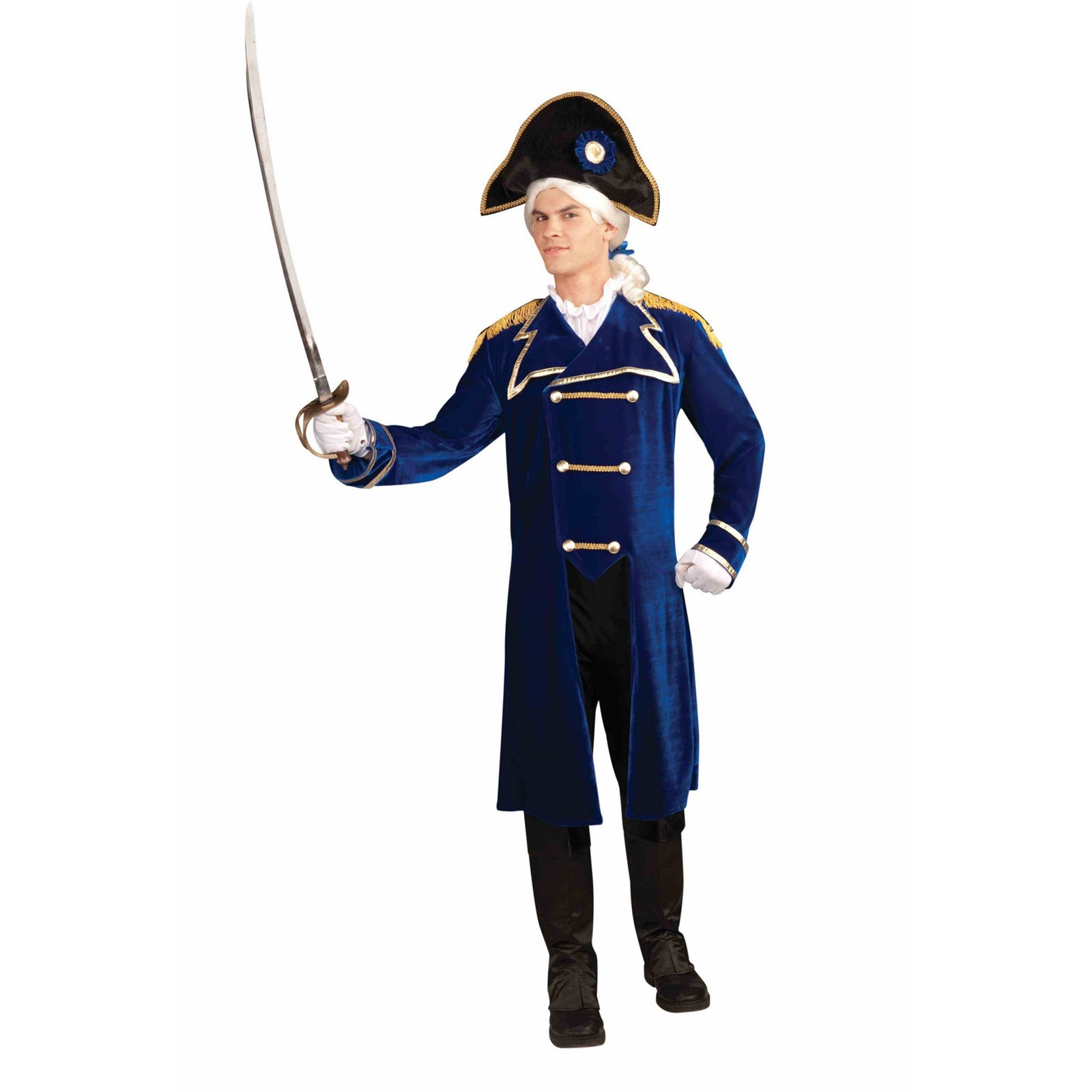 Brand New Military Admiral Hat Costume Accessory