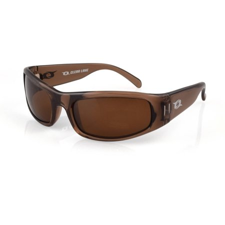 Clear lake manatee polarized lens fishing sunglasses for Polarized fishing sunglasses walmart