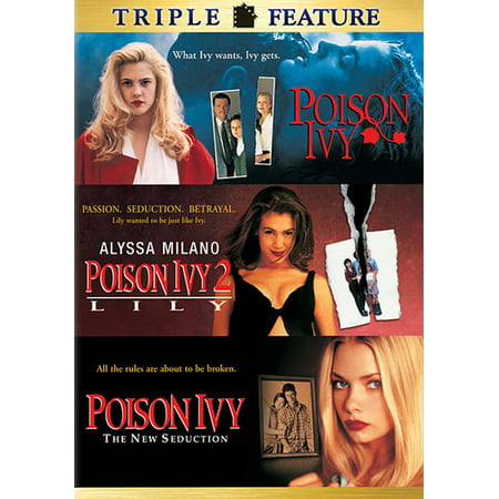 Poison Ivy Catwoman - Poison Ivy: Triple Feature (DVD)