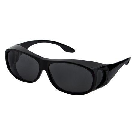LensCovers Wear Over Polarized Sunglasses- (Ferrari Red Sunglasses)