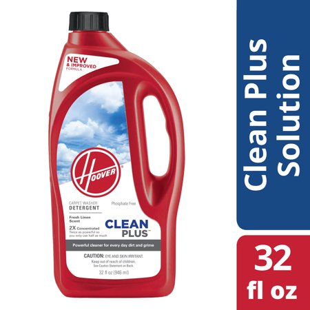 Hoover 2X CleanPlus Carpet Cleaner Solution 32 oz, (Hoover Carpet Detergent)