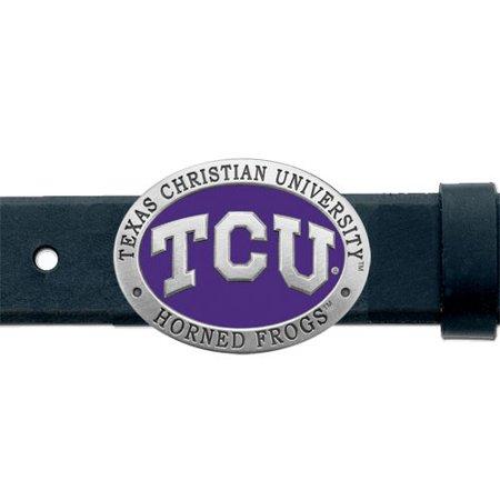 TCU Horned Frogs Belt Buckle