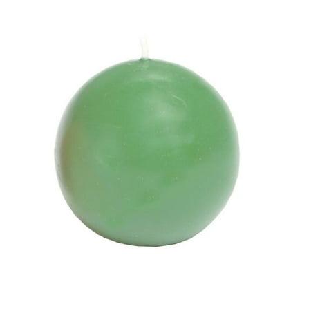 Biedermann & Sons CBC70DQ Ball Candles - Daiquiri Green (Rum Balls)