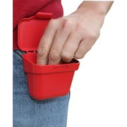 MTM AMMO BELT POUCH HOLDS 100RDS 22LR POLY RED