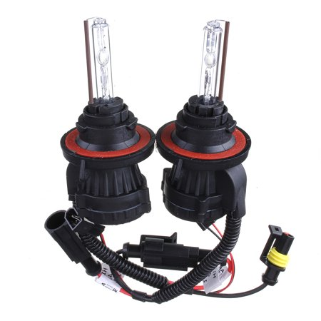 2x 9004 35W HID Xenon Hi/Lo Headlight Replacement Conversion kit Lamp Bulb DC12V Conversion Kit 9004 Bulb