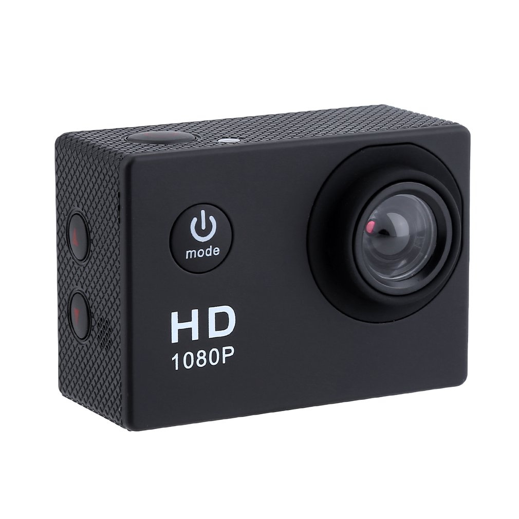 A9 1080P HD Action Camera 2.0 Inch Waterproof Outdoor Camcorder Recorder 120 Degree Wide Angle Mini Underwater Camera US Plug
