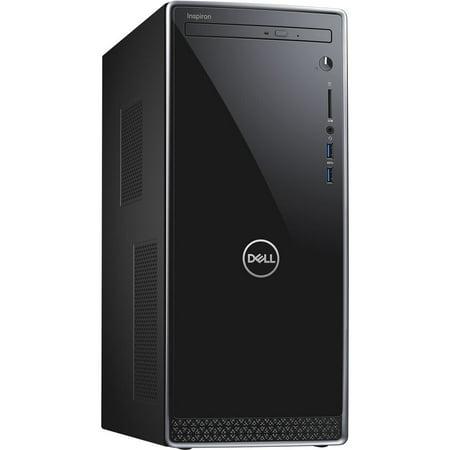 Dell Inspiron 3000 3670 Desktop Computer - Intel Core i5 (8th Gen) i5-8400 2.8GHz - 12GB DDR4 SDRAM - 1TB HDD - Windows 10 Pro