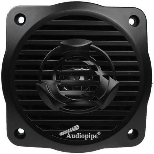"Audiopipe APSW-4032BK 100W 4"" Coaxial 2-Way Black Marine Speakers"