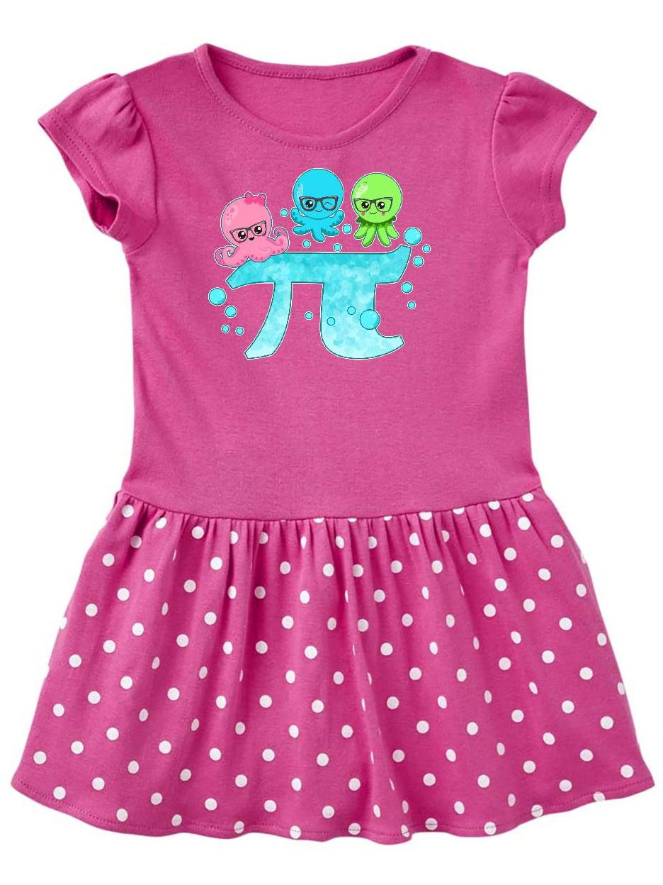 Octo-pi- funny for Pi Day Toddler Dress