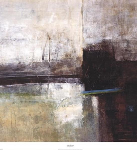 Composure II Poster Print by Jodi Maas (35 x 37)