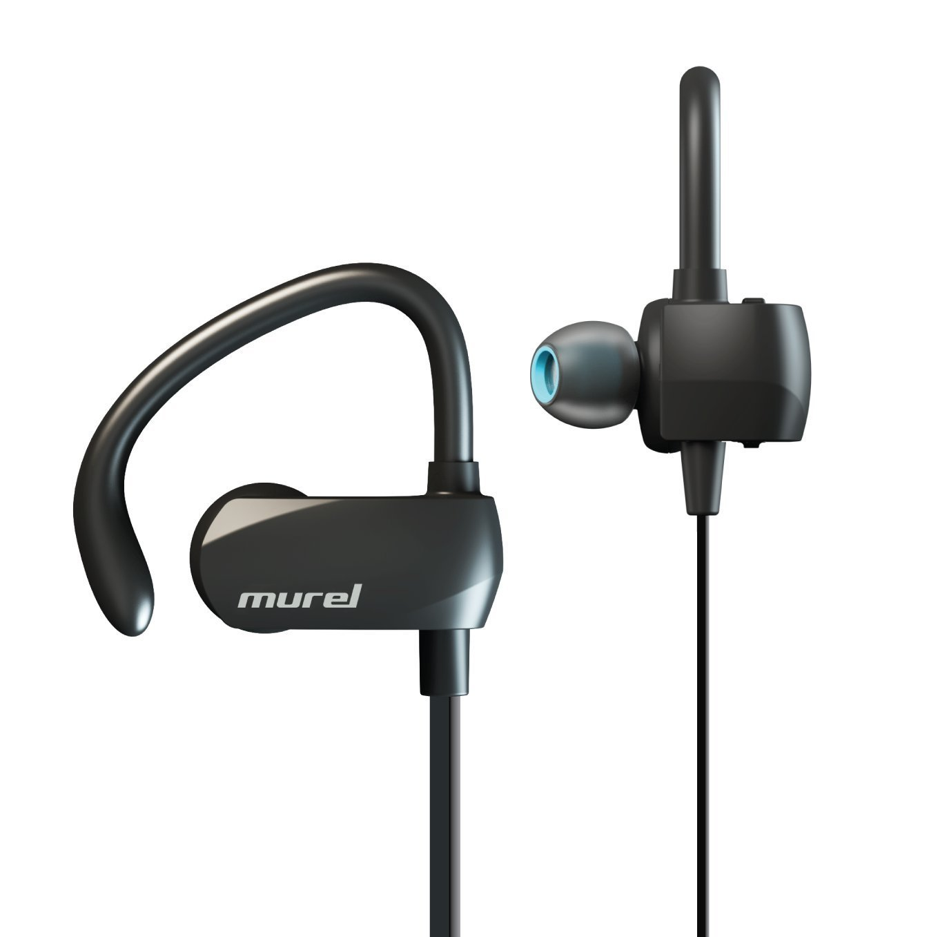 Best Bluetooth Earbuds Wireless Sport 8 Hour Play Time In Ear Exercise Running Sweat Proof Bluetooth 4 1 Secure Ear Hooks Design With Premium Comply Foam Ear Tips P02 By Murel New Walmart Com