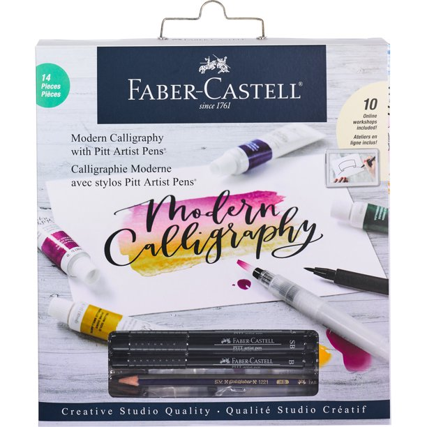 fabercastell modern calligraphy kit  lettering and