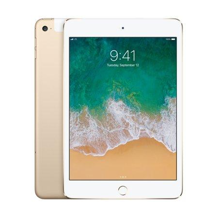 Apple MK882LL/A iPad mini 4 Wi-Fi + Cellular 16GB Gold