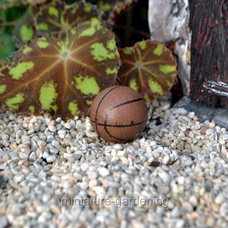 Miniature Basketball for Miniature Garden, Fairy Garden