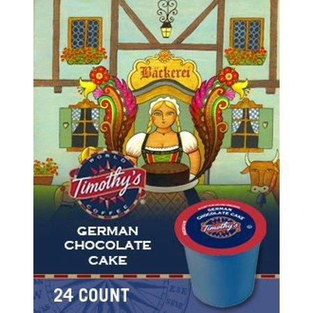 GERMAN CHOCOLATE CAKE K CUP COFFEE 96 COUNT
