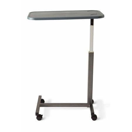 Medline Composite H Base Height Adjustable Overbed Table