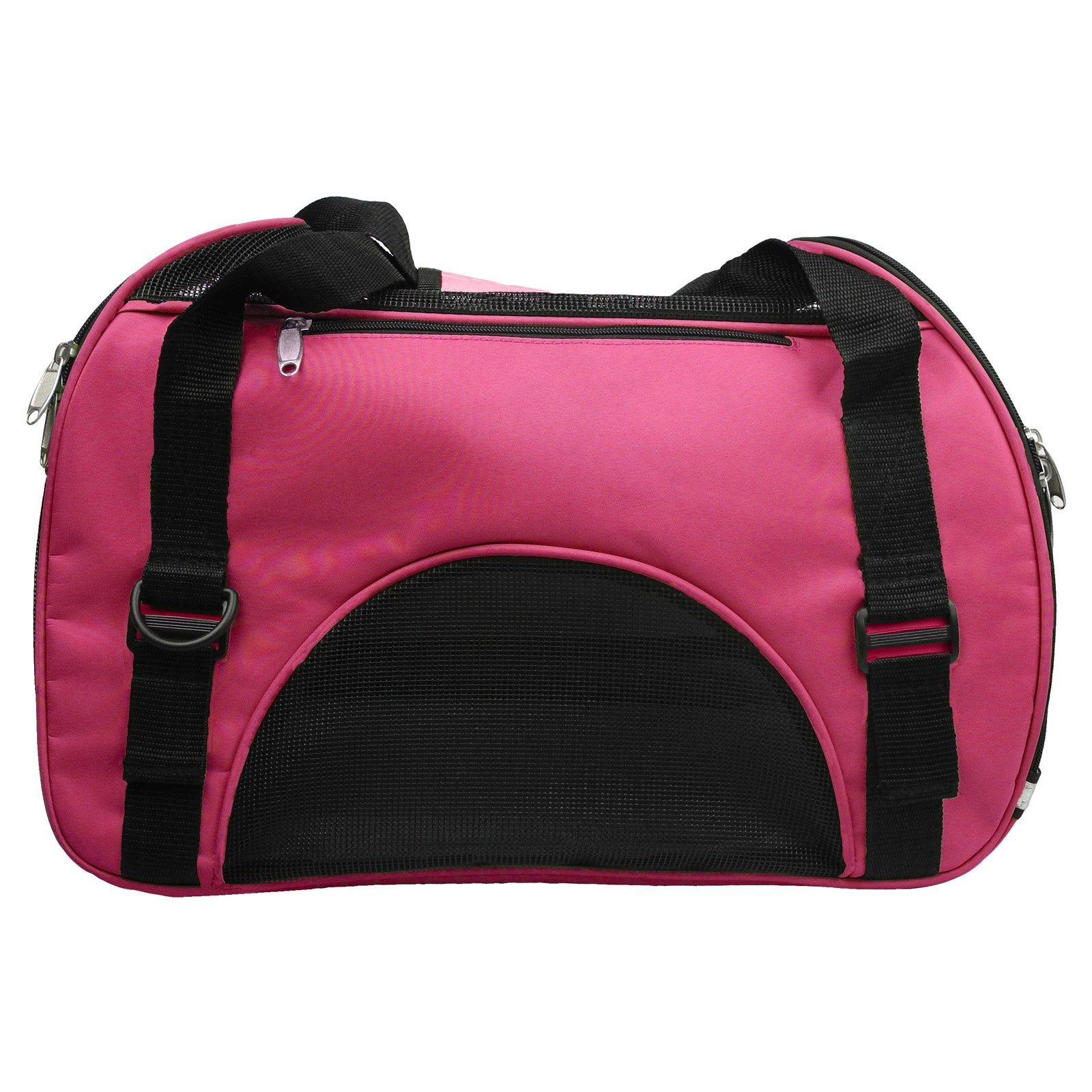Pet Life Airline Approved Sporty Zippered Fashion Pet Carrier