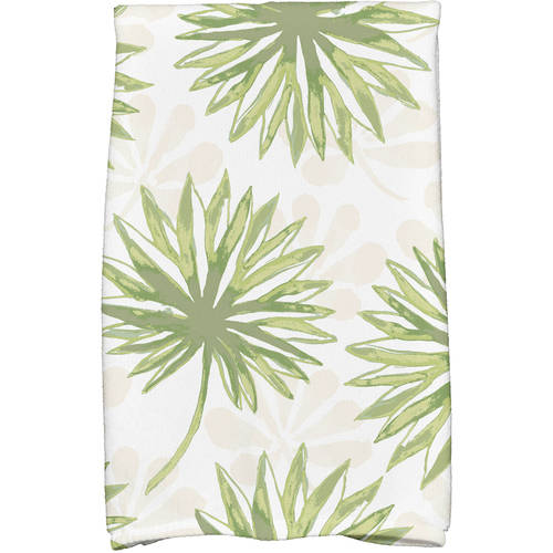 """Simply Daisy 16"""" x 25"""" Spike and Stamp Floral Print Kitchen Towels by E By Design"""