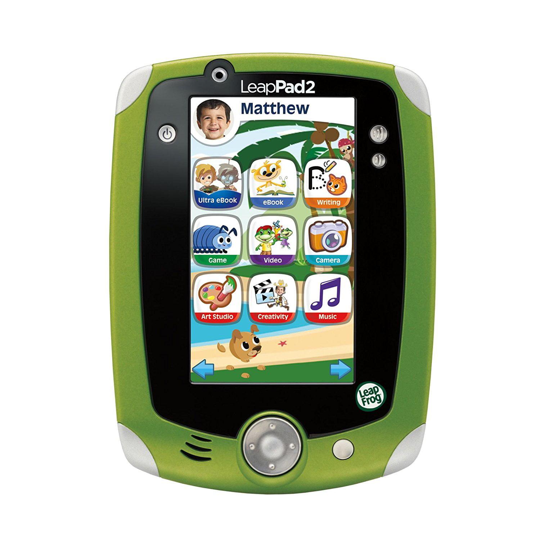 LeapFrog LeapPad2 Explorer Kids' Learning Tablet, Green by